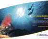 Bristol Meyers Squibb Ad, Zac Macaulay, underwater photographer